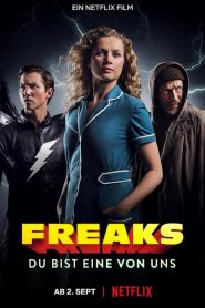 Freaks: 3 superhéroes HDRip